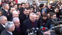 Cumhurbaşkanı Erdoğan, Mustafa Paşa'da İncelemelerde Bulundu