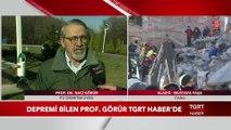 Depremi 3 Ay Önceden Bilen Prof. Dr. Naci Görür TGRT Haber'de