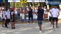 Huitième LIEBALLE vs BAUER à Draguignan
