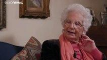 """Liliana Segre :""""Auschwitz fait partie de moi"""""""