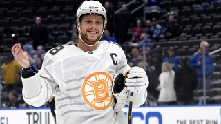 David Pastrnak earns All-Star MVP honors with four goals