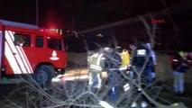 Maslak'ta takla atan otomobil hurdaya döndü 1'i ağır, 3 yaralı