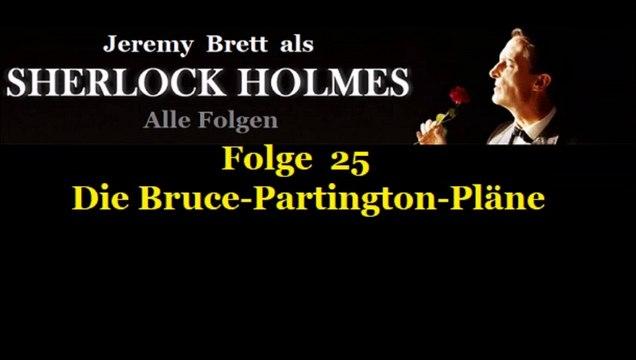 Sherlock Holmes (25) Die Bruce-Partington-Pläne