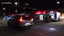 Coronavirus: Exteriors of Toronto hospital treating Canada's first suspected case