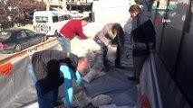 Aksaray'dan Elazığ'a 1 tır gıda yardımı