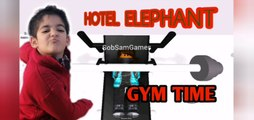 GYM time hotel elephant Roblox SobSamGames