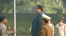 Nitin Gadkari unfurls national flag on R-Day