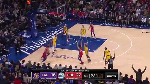 Los Angeles Lakers 91 - 108 Philadelphia 76ers
