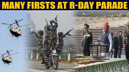 Many firsts witnessed at 71st Republic Day parade, Chinook & Apache helicopters make debut flypast