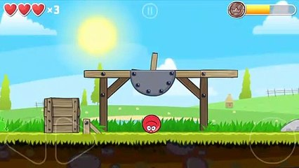 red ball 4 gameplay - boule rouge 4 jeu