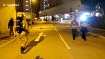 "Coronavirus: Furious Hong Kong residents set fire to ""secret quarantine facility"""