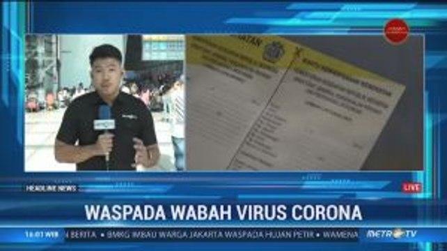 Cegah Virus Corona, Bandara Soetta Bagikan Kartu Kewaspadaan Kesehatan ke Wisman