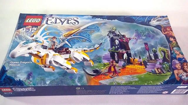 LEGO Elves 41179 Queen Dragon's Rescue Speed Build