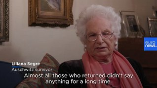 Italian Holocaust survivor: 'Silence was the best choice' after Auschwitz