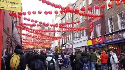 Lunar New Year celebrated in London as coronavirus fears rise in China