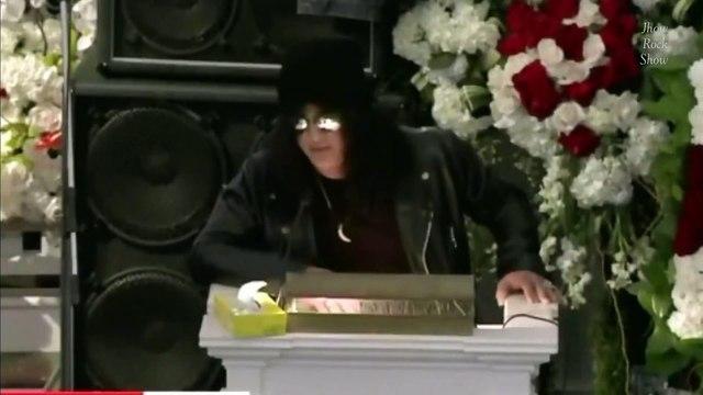 Lemmy Kilmister Funeral Slash, Mikkey Dee, Scott Ian and Dave Grohl 2016