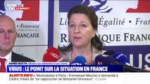 """Coronavirus: Agnès Buzyn confirme qu'il y a toujours 3 cas confirmés en France et """"plusieurs en attente de résultats"""""""