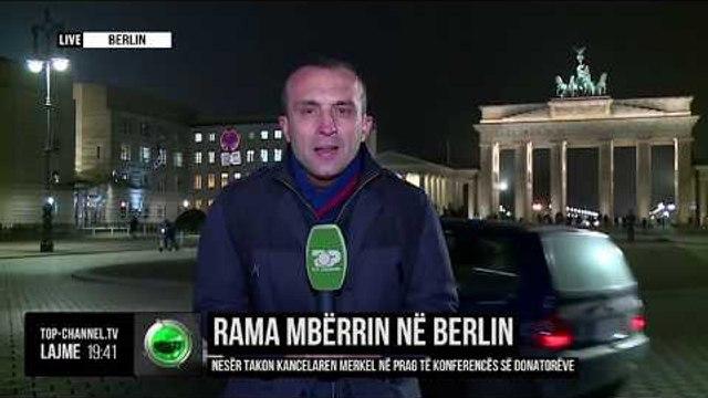 Rama mbërrin në Berlin/ Nesër takon kancelaren Merkel në prag të konferencës së donatorëve