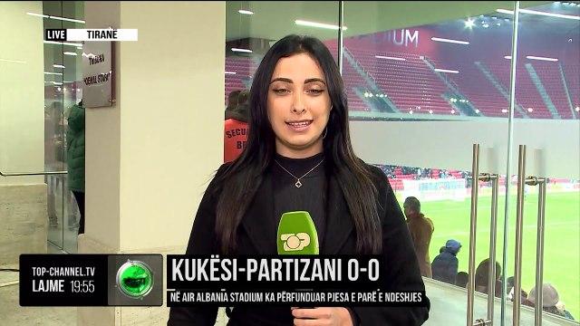 Kukës - Partizani/ Luhet ndeshja në Air Albania