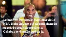 Kobe Bryant, légende de la NBA, est décédé