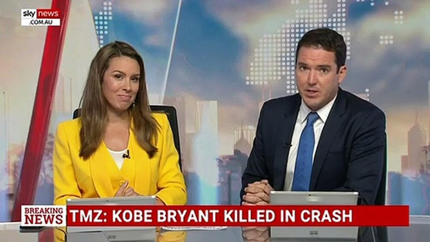Koby Bryant killed in helicopter crash