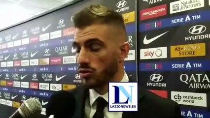 Le parole di Santon al termine del derby Roma-Lazio