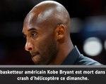 NBA - Kobe Bryant est décédé dans un accident d'hélicoptère