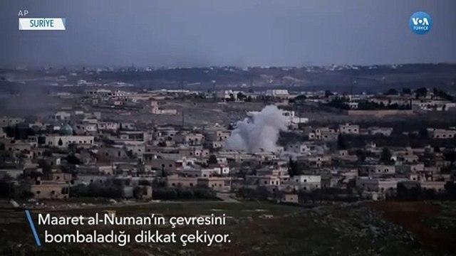 Suriye Güçleri İdlib'de Stratejik Kasabaya Yaklaştı