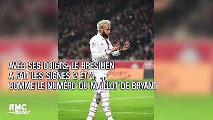 Mort de Bryant : L'hommage de Neymar pour le Black Mamba
