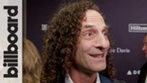Kenny G Talks His New Record & Playing With Kanye West at Clive Davis' Pre-Grammy Gala | Billboard