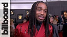"""Quavo Talks Meeting Kobe Bryant, Says """"I'll Never Look at Watching the Game the Same""""   Grammys 2020"""
