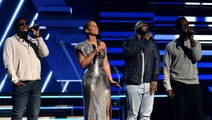 Alicia Keys, Boyz II Men Pay Tribute to Kobe Bryant at Grammys With 'It's So Hard to Say Goodbye'