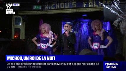 Mort de Michou: son cabaret de la rue des Martyrs lui rend hommage