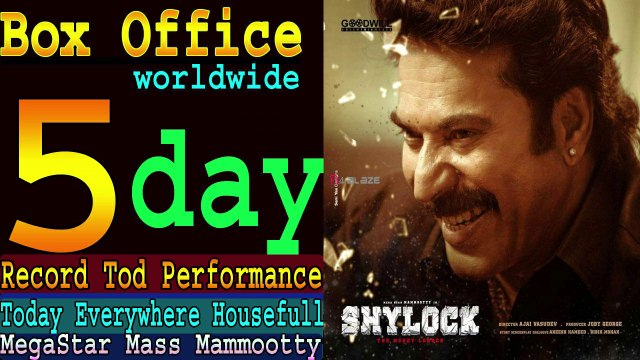 shylock Movie 5 Days Total Worldwide Box Office Gross Collection, Blockbuster Verdict Just 5 Days