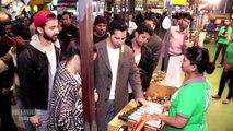 Shradha kapur & Varun Dhawan Surprise Shopping At AirPort Street Dancer Promotion