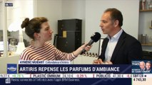 La France qui bouge : Artiris repense les parfums d'ambiance par Justine Vassogne - 27/01