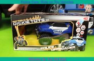 Police Cars: Ride on Toy Vehicles w/ Lego Construction Toys, Trucks and Car Surprise for Kids