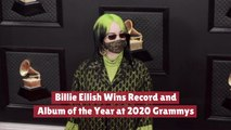 Billie Eilish Takes Over The 2020 Grammys