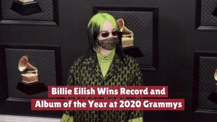 Billie Eilish Takes Over The 2020 Grammys