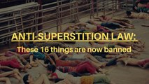 Anti-superstition law comes into effect