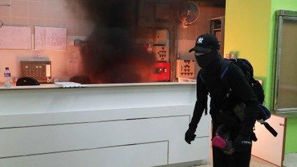 China coronavirus: proposed Hong Kong quarantine building in Fanling gets fire-bombed
