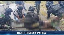 Seorang Anggota KKB Tewas saat Kontak Tembak di Intan Jaya