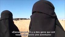 Elles veulent rentrer après leur « aventure » en Syrie