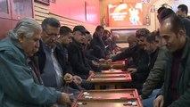 لعبة الطاولة تحتل مكانة بارزة بمدينة السليمانية