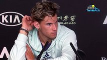 "Open d'Australie 2020 - Dominic Thiem : ""I just felt like it wouldn't work with Thomas Muster"""