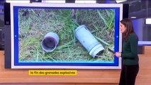 Police : comme prévu, mais un peu en avance, la grenade GLI-F4 est interdite