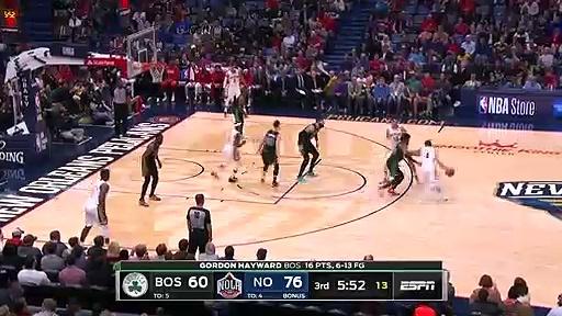 NBA'de Gecenin En Güzel 5 Oyunu | 26.01.2020