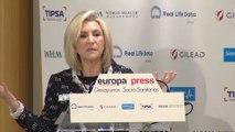Verónica Casado pide mejorar la financiación sanitaria