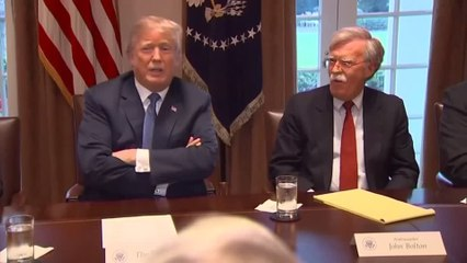 Trump told Bolton he wanted to hold Ukraine aid pending help on Biden probe -NYTimes