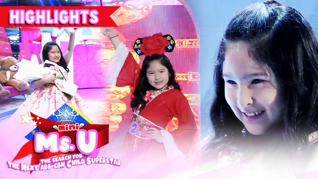 Ayeth Chua is our Mini Miss U of the day | It's Showtime Mini Miss U